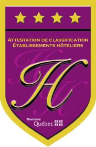 Hôtel 4 étoiles Québec
